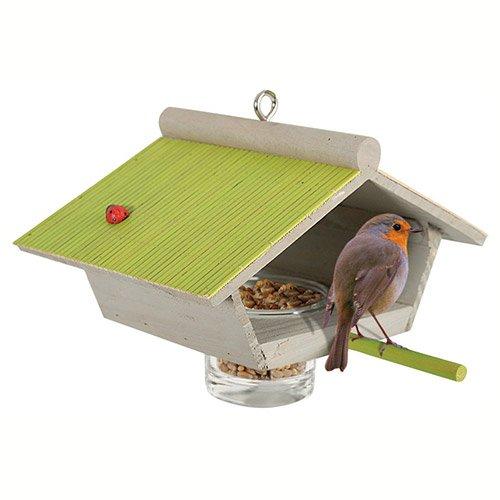 Mangeoire garden seasons mangeoire pour oiseaux des for Oiseaux metal pour jardin