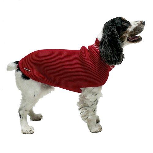 Fins de series pour chien - Pull pour chien Happy Dog rouge pour chiens