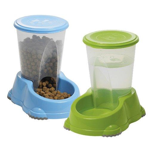 distributeurs de croquettes et d 39 eau smart 1 5l accessoire repas pour chien et chat wanimo. Black Bedroom Furniture Sets. Home Design Ideas