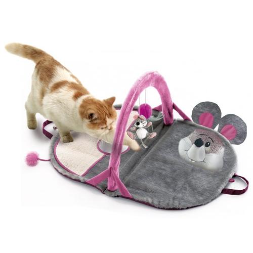tapis d 39 veil pour chaton jouet interactif pour chat karlie wanimo. Black Bedroom Furniture Sets. Home Design Ideas