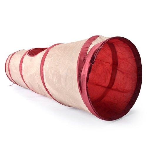 tunnel spirales en nylon tunnel de jeu pour chat camon. Black Bedroom Furniture Sets. Home Design Ideas
