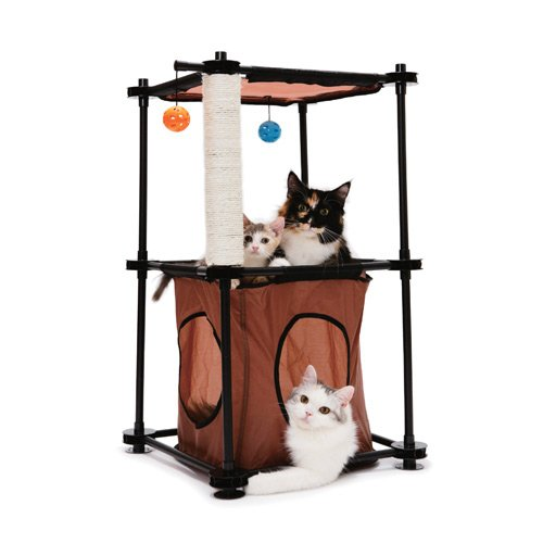 aire de jeu tower aire de jeu pour chat kitty city. Black Bedroom Furniture Sets. Home Design Ideas