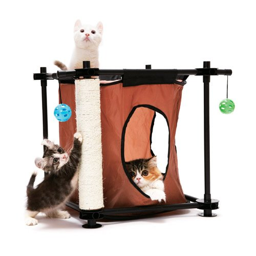 aire de jeu hideaway aire de jeu pour chat kitty city. Black Bedroom Furniture Sets. Home Design Ideas