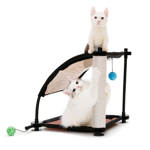 aire de jeu climbing hill aire de jeu pour chat kitty city wanimo. Black Bedroom Furniture Sets. Home Design Ideas