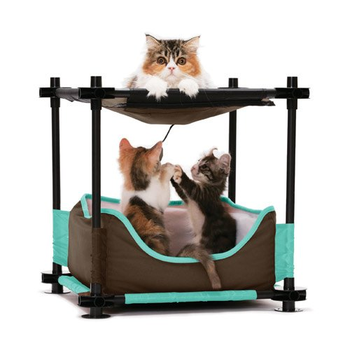 aire de jeu cosy bed aire de jeu pour chat kitty city. Black Bedroom Furniture Sets. Home Design Ideas