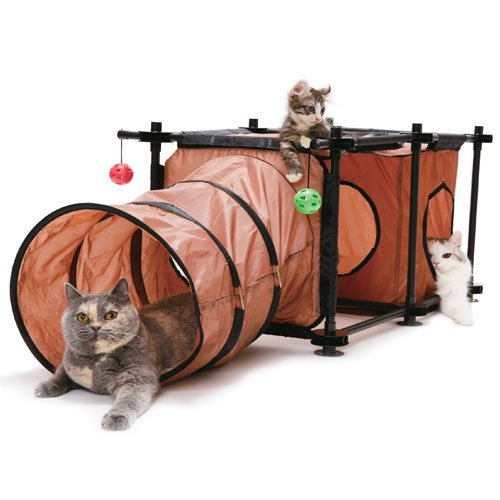 aire de jeu hideaway cave aire de jeu pour chat kitty. Black Bedroom Furniture Sets. Home Design Ideas