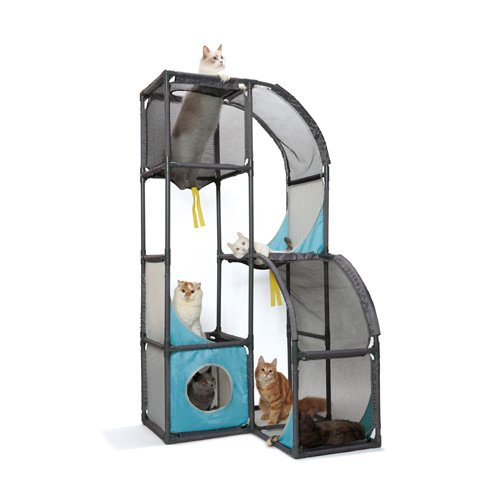 aire de jeu skyscraper aire de jeu pour chat et furet. Black Bedroom Furniture Sets. Home Design Ideas