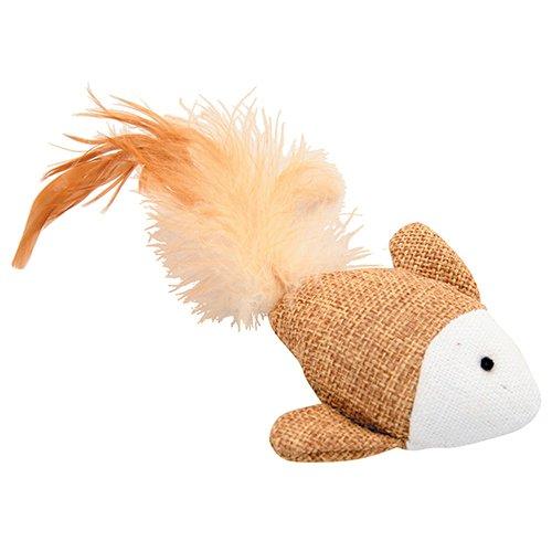 poisson plumes jouet pour chat zolux wanimo. Black Bedroom Furniture Sets. Home Design Ideas