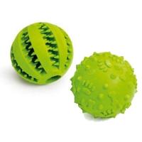 Jouet pour chien - Balles en caoutchouc senteur pomme