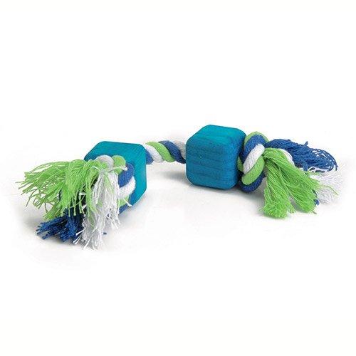 jouet en corde avec blocs jouet ronger pour rongeur beeztees wanimo. Black Bedroom Furniture Sets. Home Design Ideas