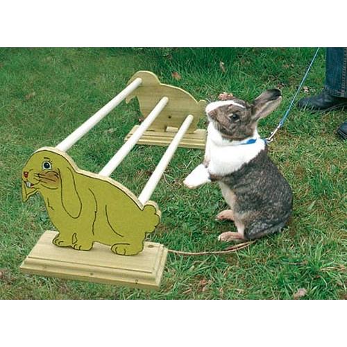 Jouets de lapin faits maison