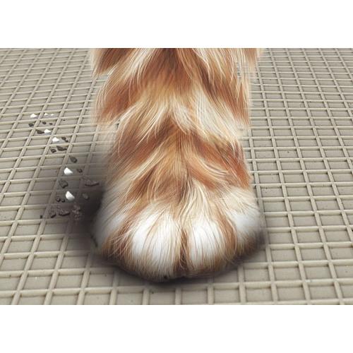 tapis pour bac liti re en pvc tapis de sol pour chat marchioro wanimo. Black Bedroom Furniture Sets. Home Design Ideas