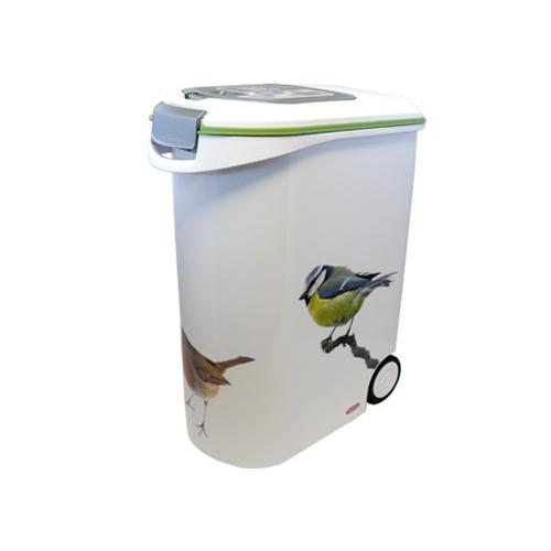 petlife container de stockage pour oiseaux bo te de stockage pour aliments curver wanimo. Black Bedroom Furniture Sets. Home Design Ideas