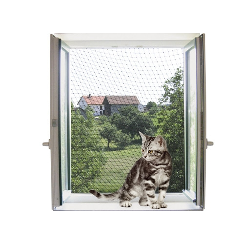 Chat animalerie en ligne croquette et accessoire pour chat arbre chat et liti re sur wanimo - Filet fenetre chat ...