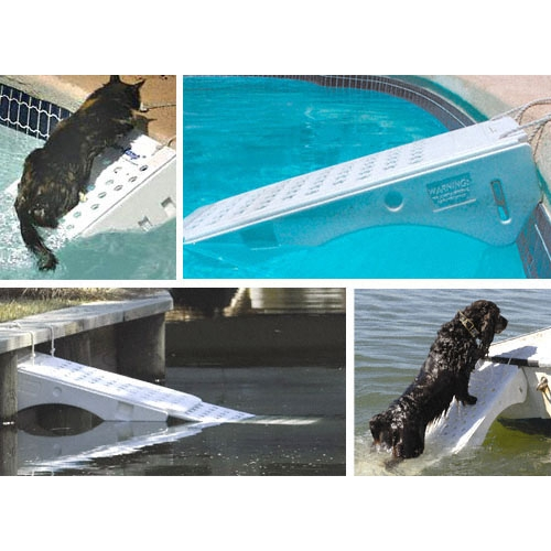 rampe pour piscine s curit pour chien et chat skamper. Black Bedroom Furniture Sets. Home Design Ideas