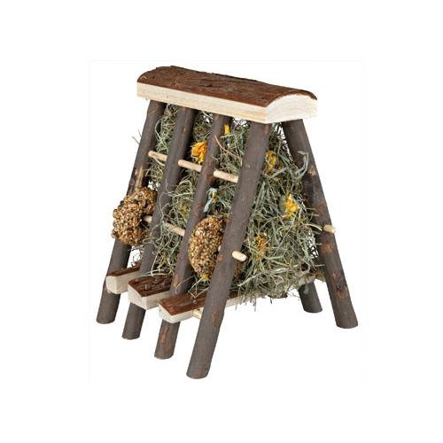 Collection automne - Ratelier avec foin et friandise pour rongeurs