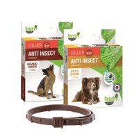 Tiques, puces & vers - Collier Anti-insect pour chien