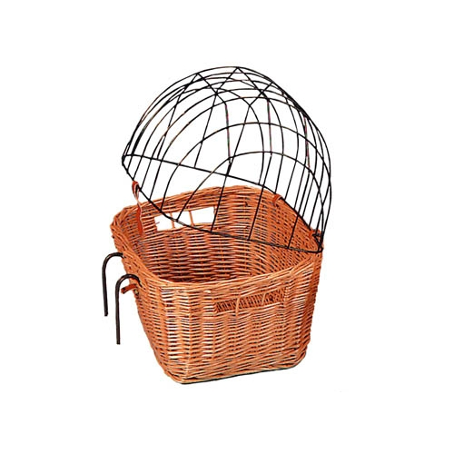 Panier Igloo Osier Chat : Transport du chat chats chez wanimo