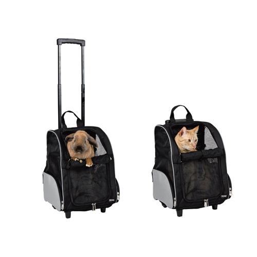 sac roulettes modulable sac de transport pour chien et chat trixie wanimo. Black Bedroom Furniture Sets. Home Design Ideas