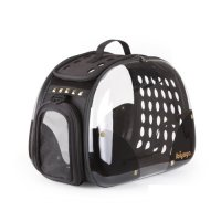 Transport du chien - Sac Hard Rock transparent