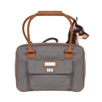 Transport du chien - Sac à main Preppy Grey