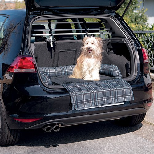 lit pour coffre de voiture transport du chien trixie wanimo. Black Bedroom Furniture Sets. Home Design Ideas
