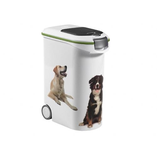 grande bo te croquettes petlife accessoire repas pour chien curver wanimo. Black Bedroom Furniture Sets. Home Design Ideas