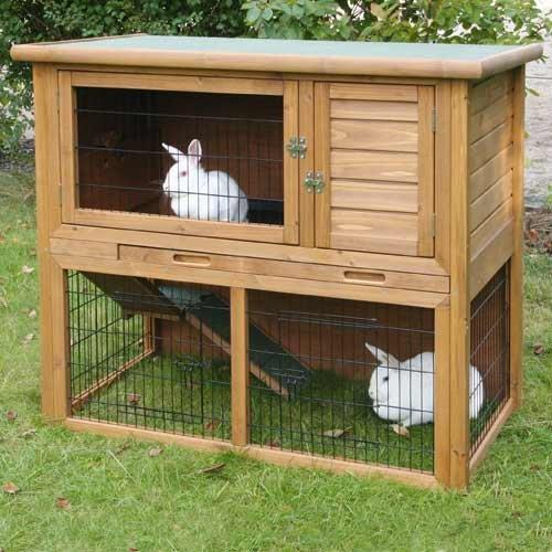 Clapier la vita 2 tages for Construire une cabane a lapin exterieur