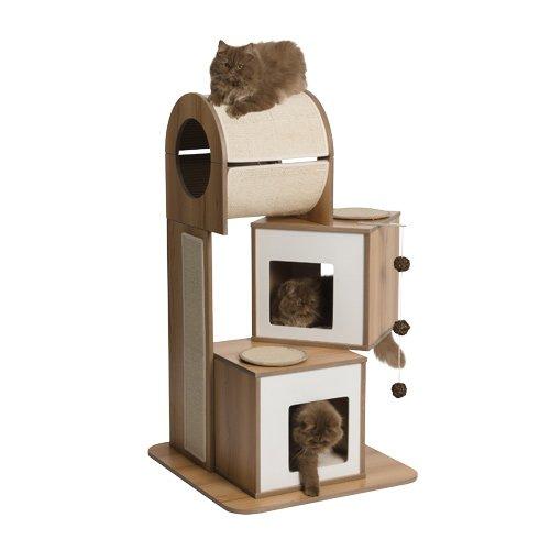 arbre chat vesper tour arbre chat wanimo. Black Bedroom Furniture Sets. Home Design Ideas