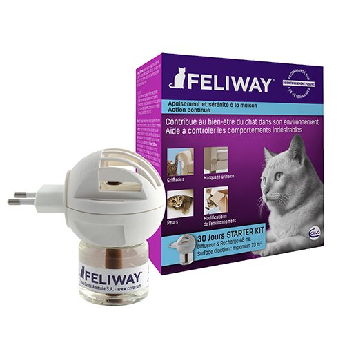 feliway diffuseur et recharges anti stress pour chat. Black Bedroom Furniture Sets. Home Design Ideas