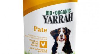 Les aliments bio Yarrah pour chien et chat